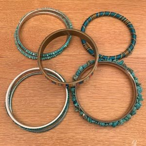 Bundle of Buckle Bracelets